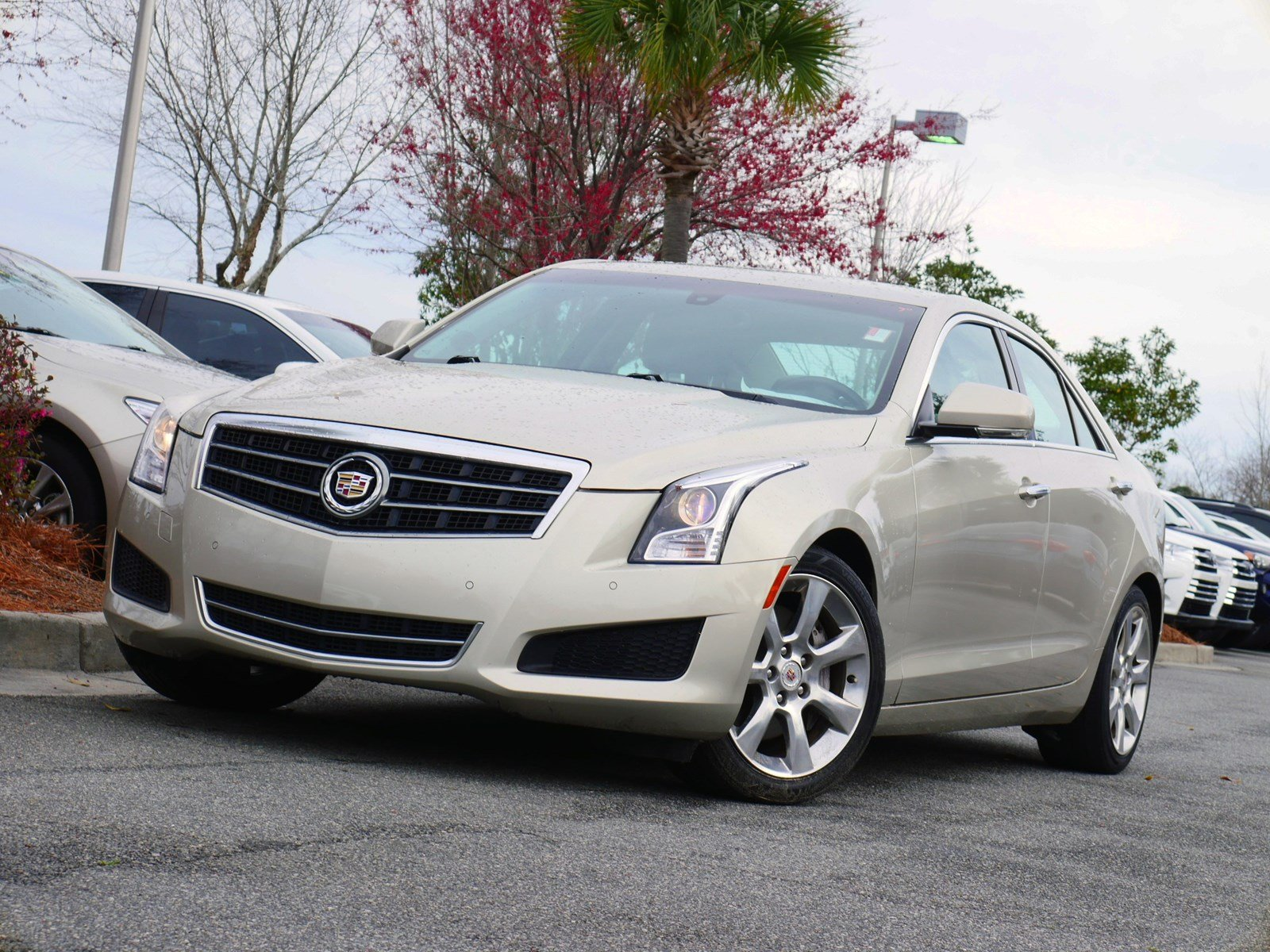 Pre-Owned 2013 Cadillac ATS 2.0L Turbo Luxury RWD 4D Sedan