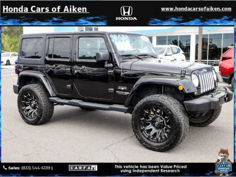 Pre-Owned 2018 Jeep Wrangler JK Unlimited Sahara 4WD 4D Sport Utility