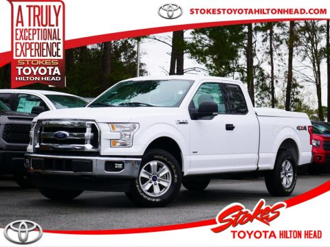 Pre-Owned 2017 Ford F-150 XLT 4WD Super Cab