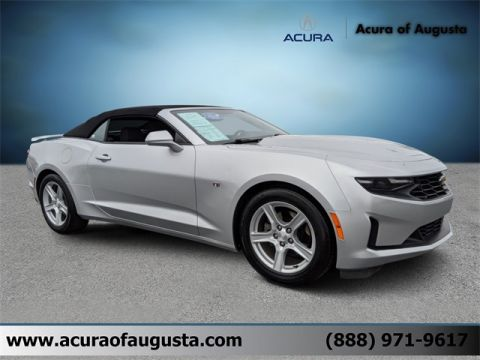 Pre-Owned 2019 Chevrolet Camaro 1LT RWD 2D Convertible