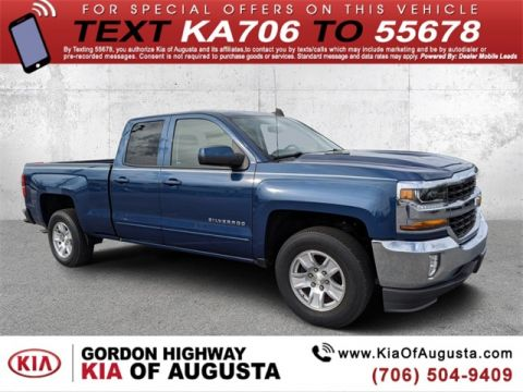 Pre-Owned 2016 Chevrolet Silverado 1500 LT RWD 4D Double Cab