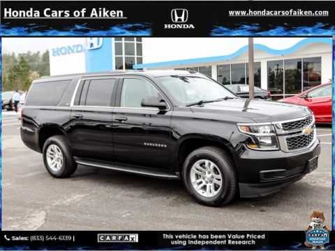 Pre-Owned 2019 Chevrolet Suburban LT 4WD 4D Sport Utility