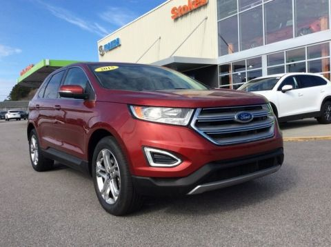 Pre-Owned 2015 Ford Edge Titanium FWD 4D Sport Utility