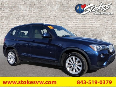 Pre-Owned 2017 BMW X3 sDrive28i RWD 4D Sport Utility