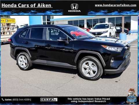 Pre-Owned 2019 Toyota RAV4 XLE FWD 4D Sport Utility