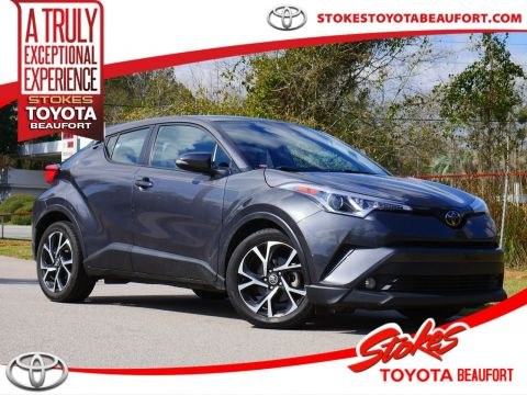 Certified Pre-Owned 2018 Toyota C-HR XLE Premium FWD 4D Sport Utility